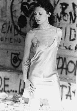 L'attrice Carmen Panarello